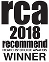 Recommend Magazine Readers Choice Award